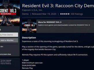 Comment télécharger démo Resident Evil 3 sur PS4 et PC - Guide