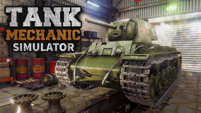 tank Mechanic Simulator PS4 et Steam