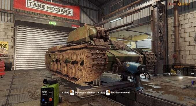 Tank Mechanic Simulator PC : Configuration système requise guide