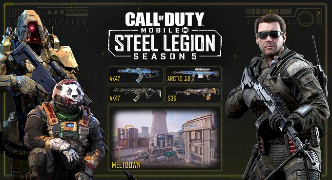 Défis Cod Mobile / Call of Duty Mobile Saison 5
