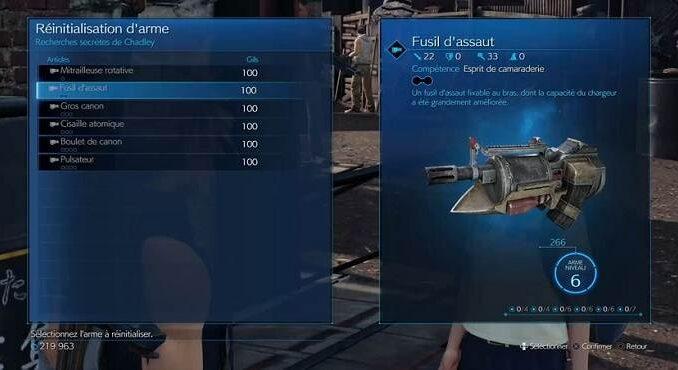Comment débloquer des capacités d'armes uniques dans Final Fantasy 7 Remake Guide