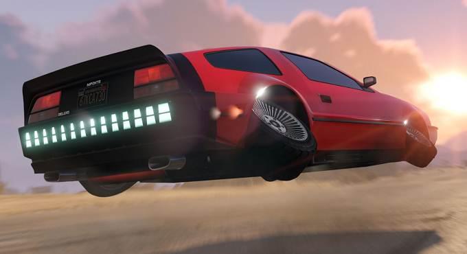 Deluxo dans GTA 5 Online - Voiture volante