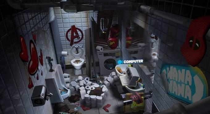 Emplacement de la lettre Fortnite Deadpool guide
