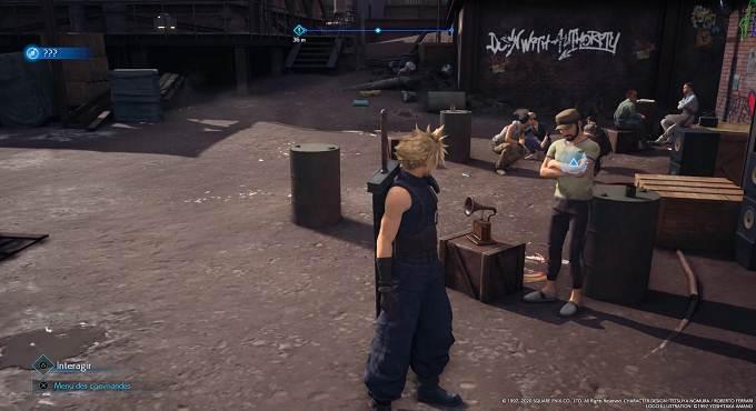 Guide Emplacement disques musicaux dans Final Fantasy 7 Remake Chapitre 3 - 27 Hip Hop de Chocobo