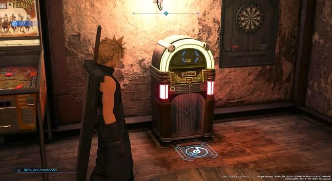 Guide Emplacement disques musicaux dans Final Fantasy VII Remake Chapitre 3 - 03 Tifa's Theme