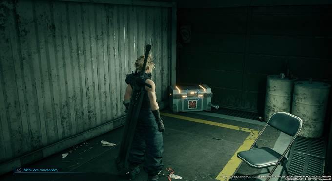 Final Fantasy VII Remake Coffres et Matérias du Chapitre 4 Virée nocturne Guide PS4