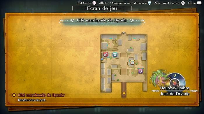 Guide de tous les emplacements P'tit Cactus dans Trials of Mana - Cité marchande de Byzehr