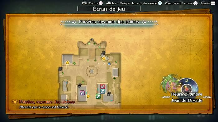 Soluce - Où trouver P'tit Cactus dans Trials of Mana - Forséna Royaume des Plaines