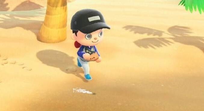 Trouver des palourdes de Manille dans Animal Crossing New Horizons Guide Fabriquer des des appâts de poisson