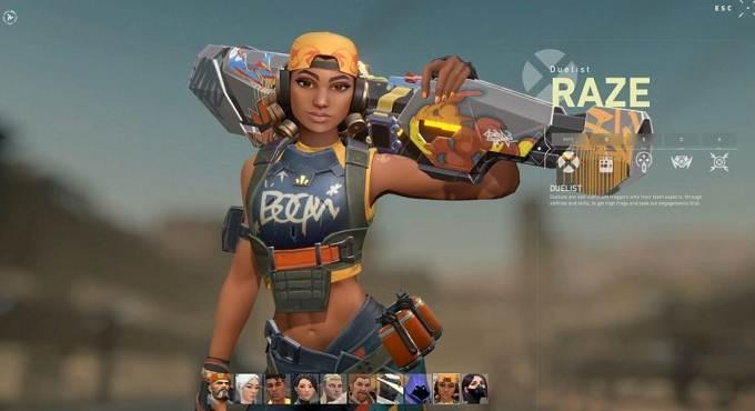 Raze Agent dans The Valorant - Guide PC