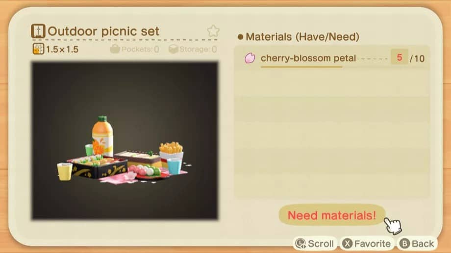 Recette de bricolage de Fleur de cerisier dans Animal Crossing: New Horizons solution complète