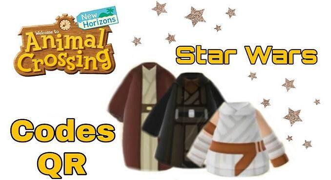 Animal Crossing New Horizons Codes vêtements personnalisés Star Wars