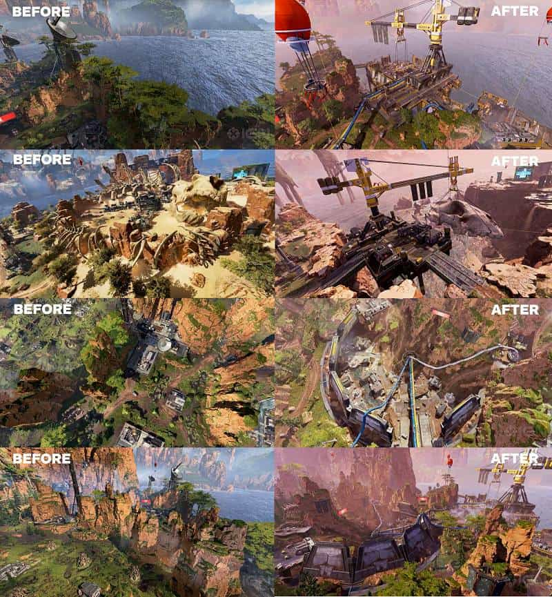 Apex Legends Saison 5 Battle Pass nouveautés cartes map