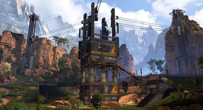 Atterrir dans La cage - Apex Legends Guide