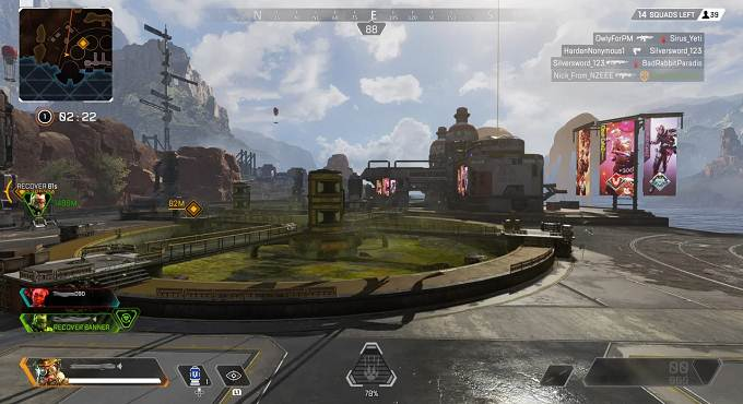 Meilleur site largage Barrage hydroélectrique dans Apex Legends - Water Treatment