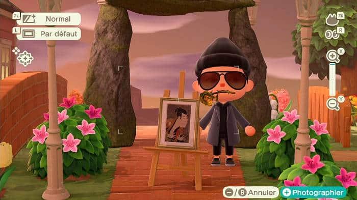 Contrefaçons de tableaux dans Animal Crossing New Horizons