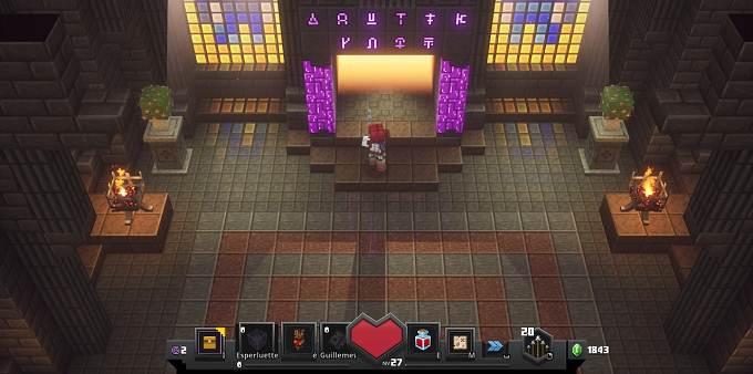 Débloquer niveau secret dans Minecraft Dungeons - Soluce