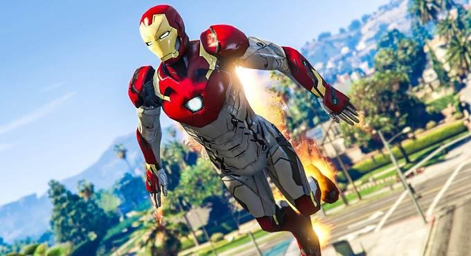 Télécharger GTA 5 Iron man Mod