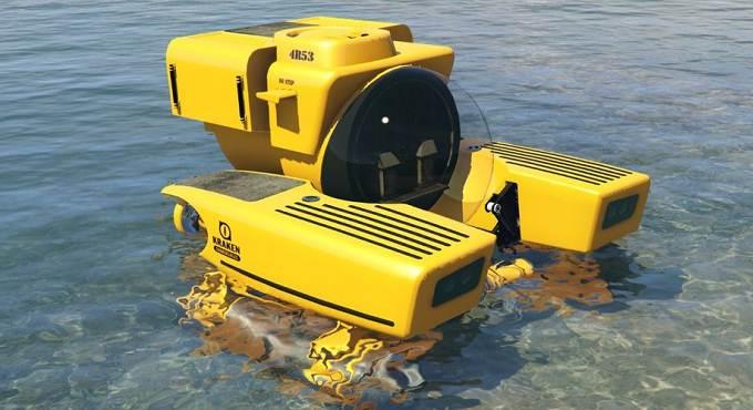 GTA 5 Sub Kraken Guide