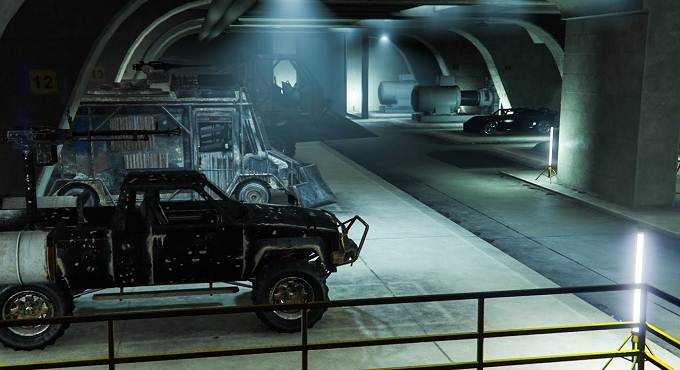 Acheter Garages pour 60 voitures dans Grand Theft Auto Online Guide