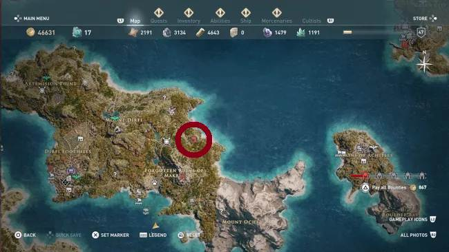 Jetez les dés - Xenia AC Odyssey Pirate's Life for Me Guide
