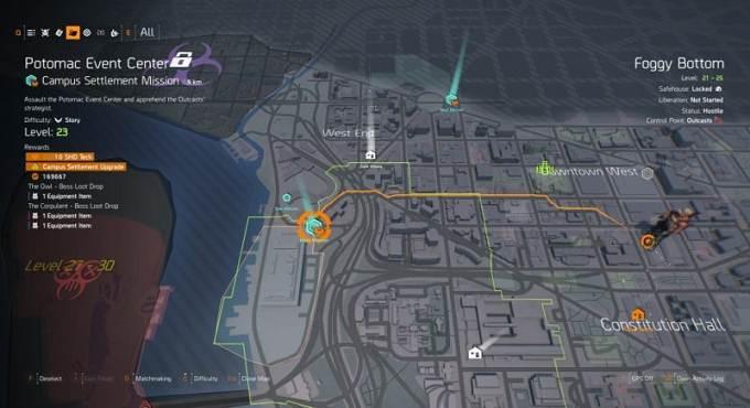 Potomac Event Center - The Division Spécialisation Firewall - Solution complète