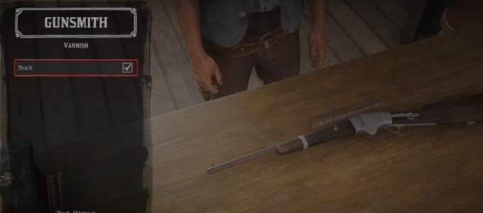 Guide RDR2 Défi Experts en Armes - Fusil de chasse fabriqué