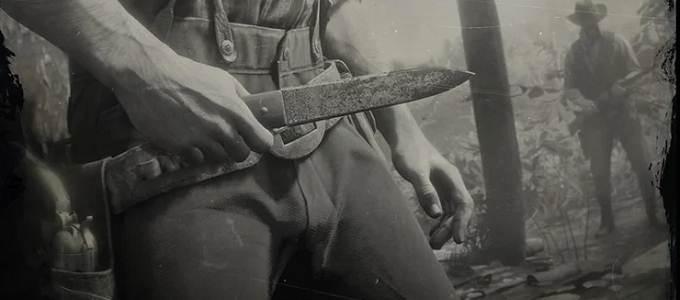 RDR2 Défi Experts en Armes Guide - couteaux à lancer