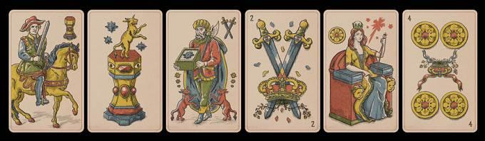 RDR2 / Red Dead Online Cartes de Tarot