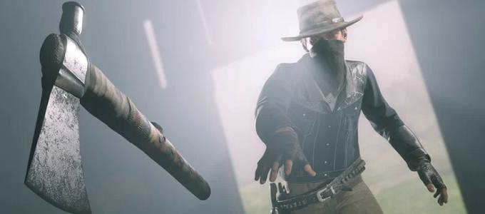Guide Red Dead Redemption 2 Défi Experts en Armes - Tomahawk lancer