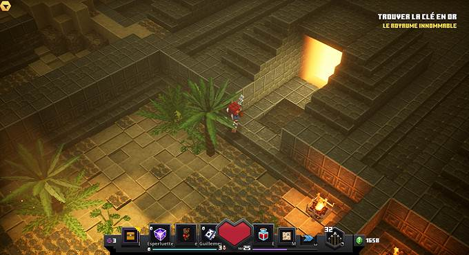 Rune 6 - Temple du désert - Minecraft Dungeons Soluce