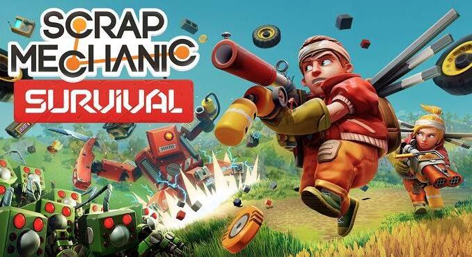 Scrap Mechanic Survival mode de survie Guide