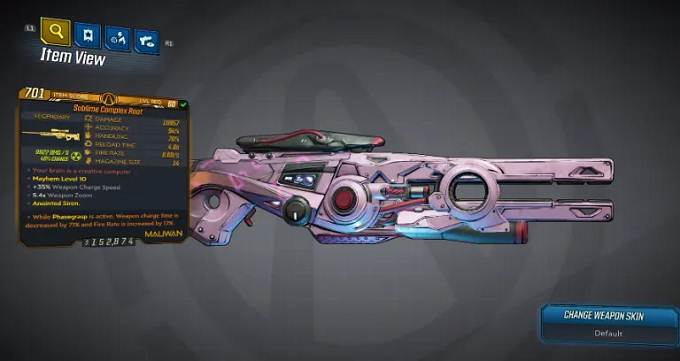 Complex Root - armes légendaires dans Borderlands 3 (BL3) Bounty of Blood guide