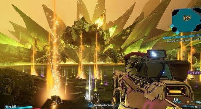 Boss final Ruiner dans Borderlands 3 (BL3) DLC Bounty of Blood Guide coplet