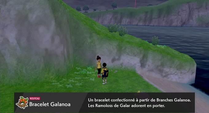 Bracelet Galanoa - évoluer Ramoloss de Galar DL Isolarmure Guide