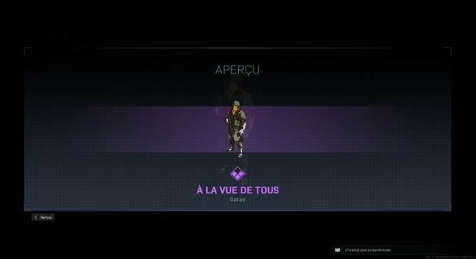 Guide CoD Warzone saison 4 - Spray À la vue de tous - Mission Bien équipé en Battle Royale