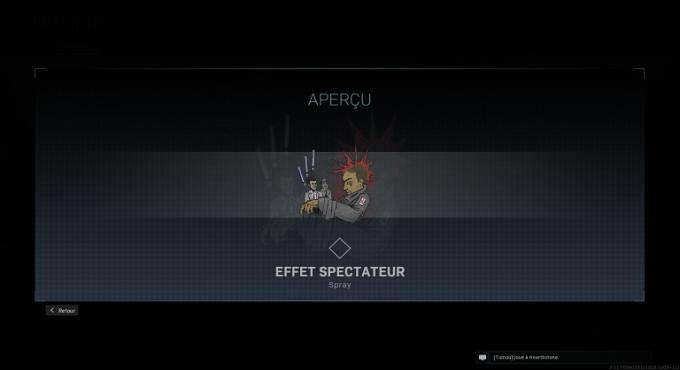 CoD Warzone saison 4 - Spray Effet spectateur - Mission Bien équipé en Battle Royale Guide