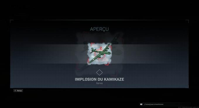 Guide Missions CoD Warzone saison 4 - Spray Implosion du kamikaze - Mission Clé de voûte en Battle Royale