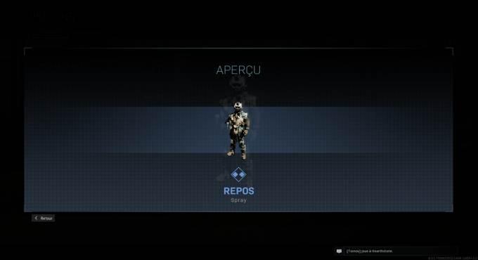 Guide Warfare Warzone saison 4 - Spray Repos - Mission Bien équipé en Battle Royale