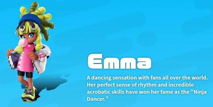 Emma Ninjala characters Guide - Nintendo Switch
