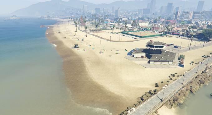 GTA 5 Plage Vespucci, top 5 meilleurs zones de la carte GTA V / Grand Theft Auto V