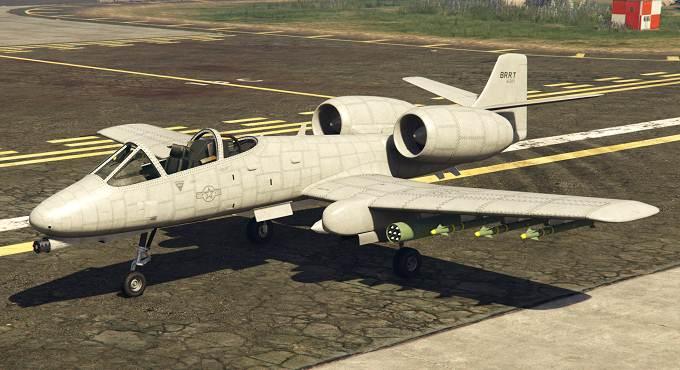 GTA Online B-11 Strikeforce avion à réaction GTA 5 / GTA 6