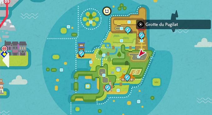 Grotte du Pugilat - Pokémon Épée et Bouclier Île Solitaire de l'Armure Guide