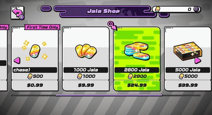 Jala la monnaie du Ninjala - Switch, comment l'obtenir