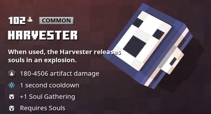 Artefact Minecraft Dungeons - Harvester