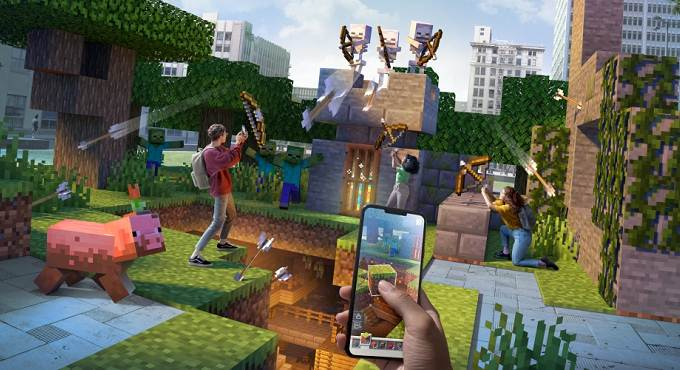 Minecraft Earth Guide: Comment fonctionne le code de scan