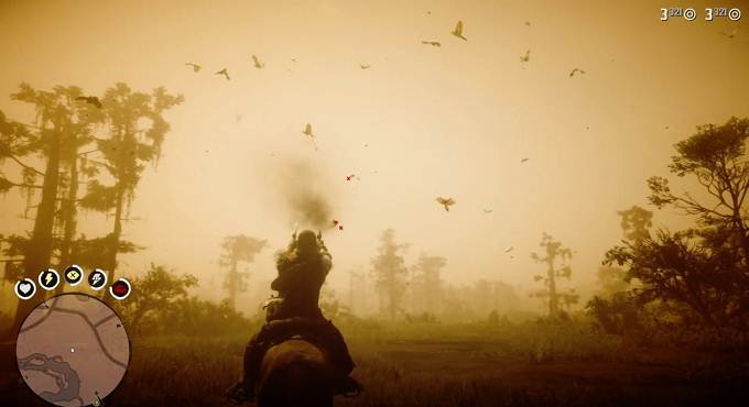 Mission perruche de Caroline dans Red Dead Redemption II