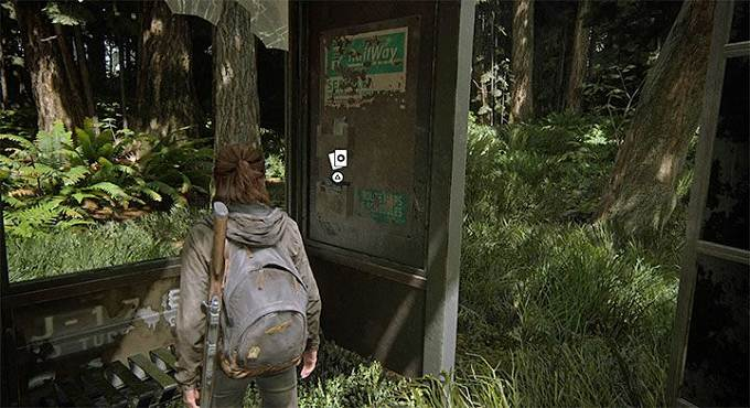 Motivateur - Carte Super-Hero The Last of Us 2 à Seattle - Jour 1, la Porte