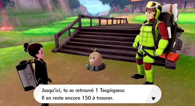 Trouver les 151 Taupiqueur d'Alola cachés sur Isolarmure premier DLC du Pass d'extension de Pokemon épée et bouclier
