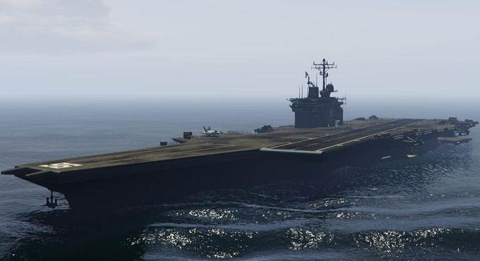 Obtenir un porte-avions dans GTA 5 / Grand Theft Auto Online / GTA 6